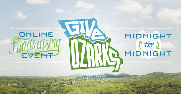 Give Ozarks Day logo and banner